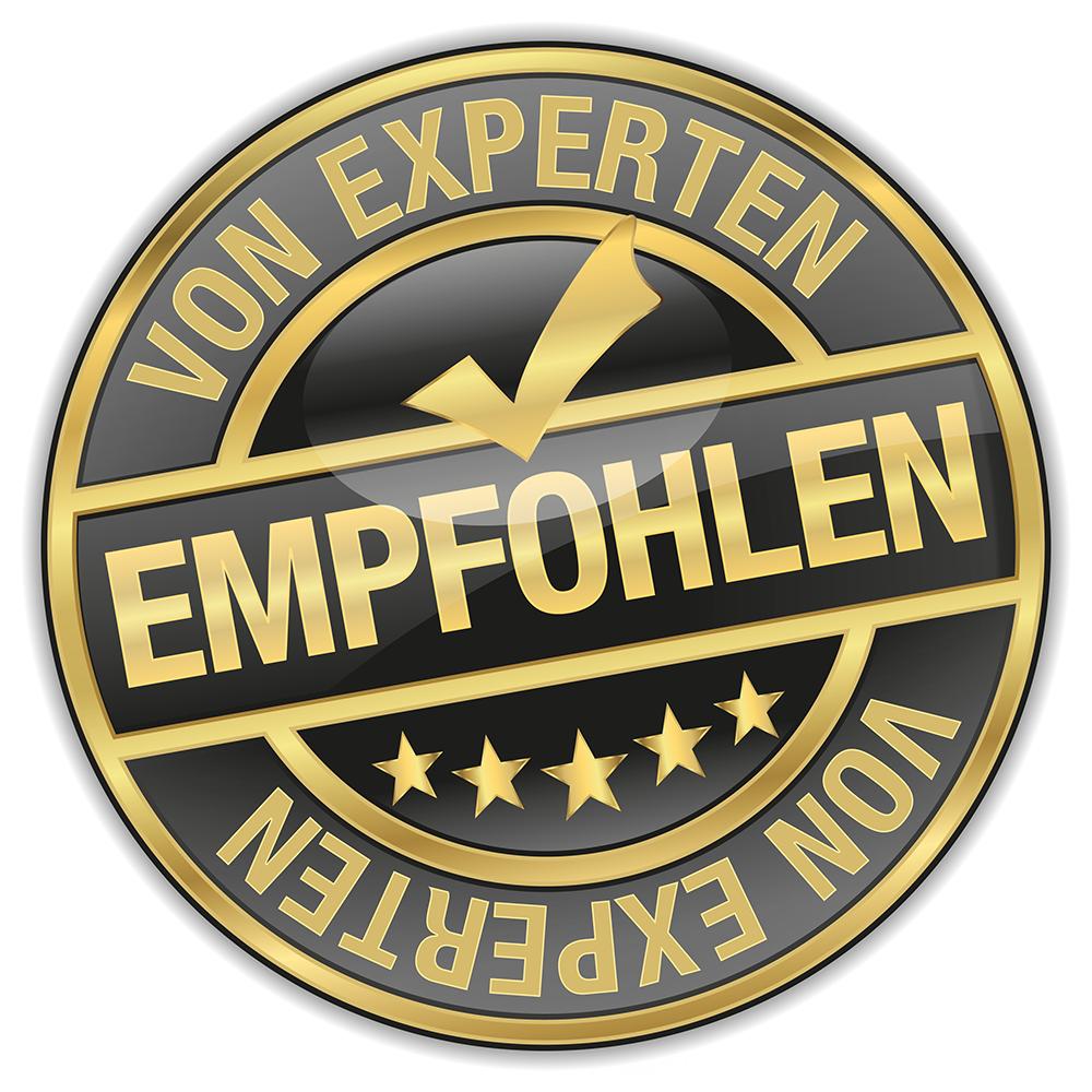 VON EXPERTEN EMPFOHLEN